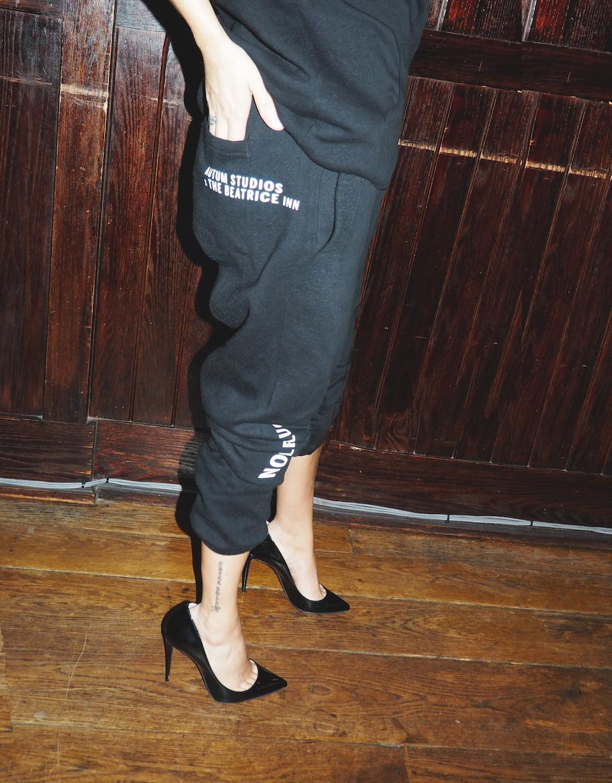 Angie Mar in The Beatrice Inn X Autum Studios Apres Nous, le Deluge Pants