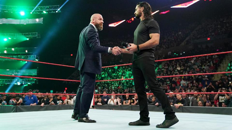 WWE Survivor Series and Raw: Seth Rollins and Triple H
