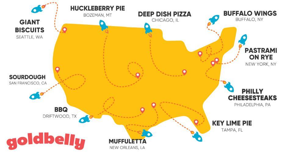 Goldbelly delivers regional treats from coast to coast