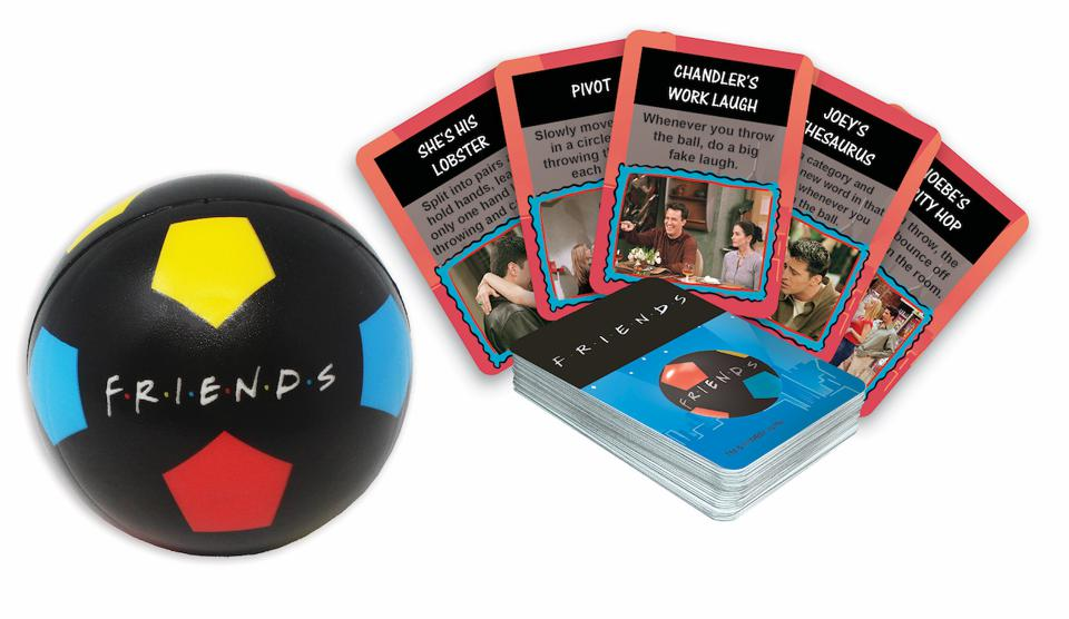 Spin Master Games' ″Friends″ ball game