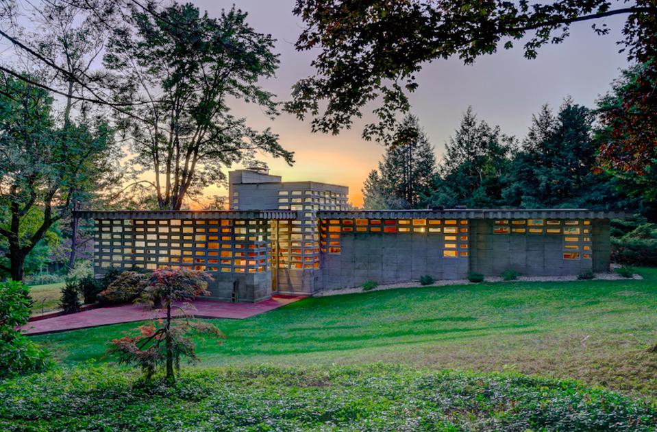 A Forgotten Frank Lloyd Wright Usonian Automatic House Surfaces In New Hampshire