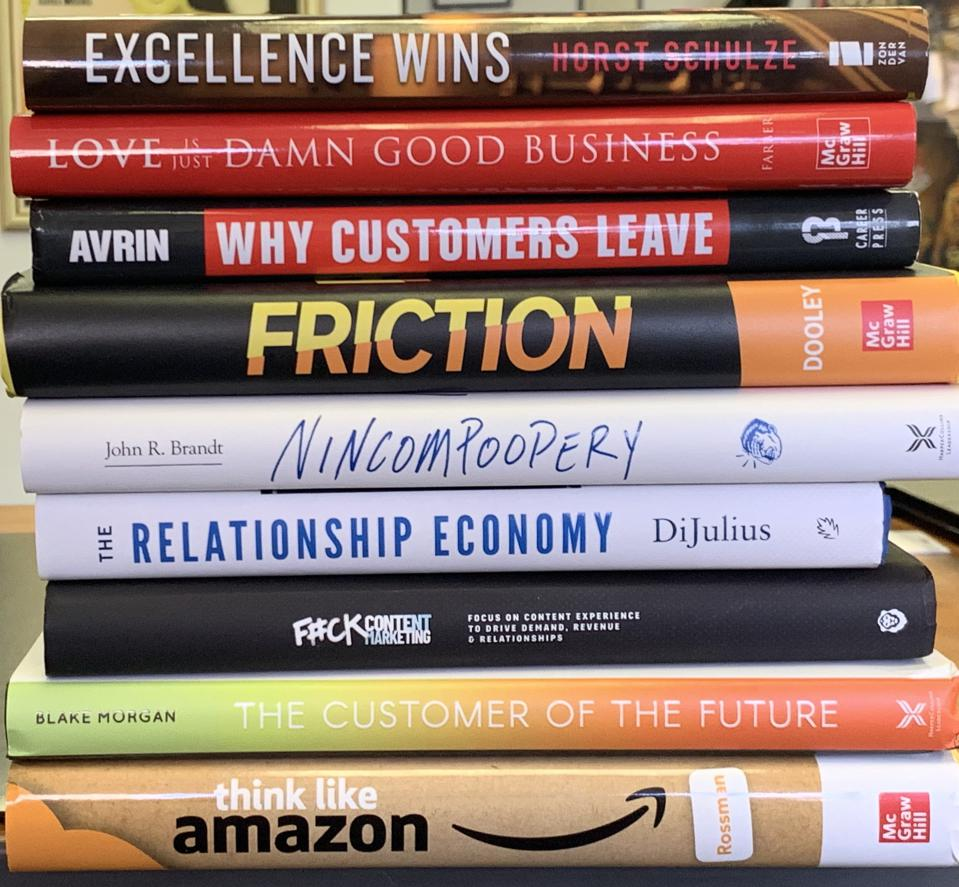 Top Ten Business Books for 2019