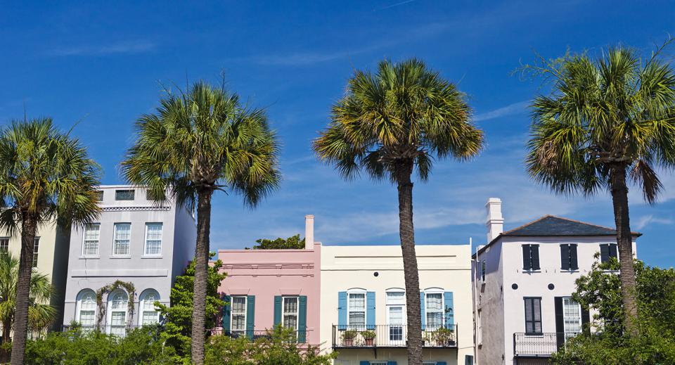 Charleston, South Carolina Colorful Homes