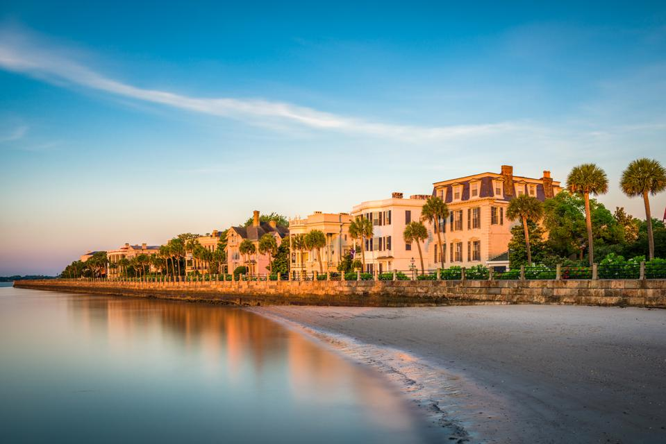 homes, The Battery, Charleston, South Carolina
