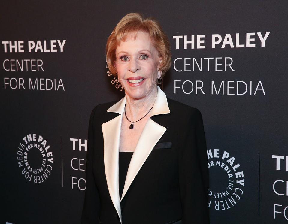 BEVERLY HILLS, CA – NOVEMBER 21: Honoree Carol Bernett arrives at The Paley Honors: A Special Tribute to Television's Comedy Legends in Beverly Hills on November 21, 2019. © Brian To for the Paley Center