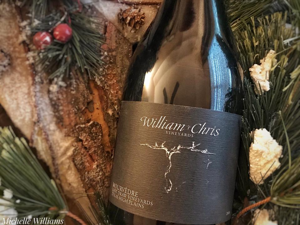 2016 William Chris Vineyards Mourvèdre Lost Draw Vineyards Texas High Plains