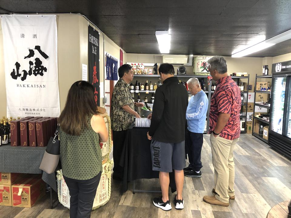 Hawaiʻi Means Business: The Sake Shop Fills Local Void In Booming U.S. Sake Industry