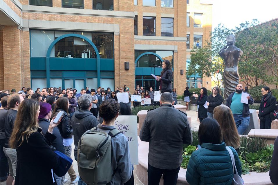 Google San Francisco rally