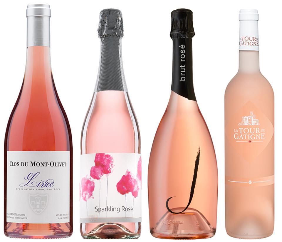 Rosé is an adaptable wine for Thanksgiving.