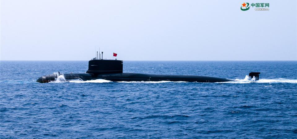 Type-093B Shang Class nuclear powered attack submarine
