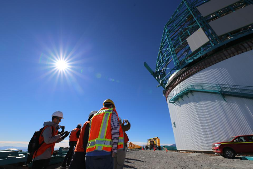 The LSST is being built on Cerro Pachón in Chile.