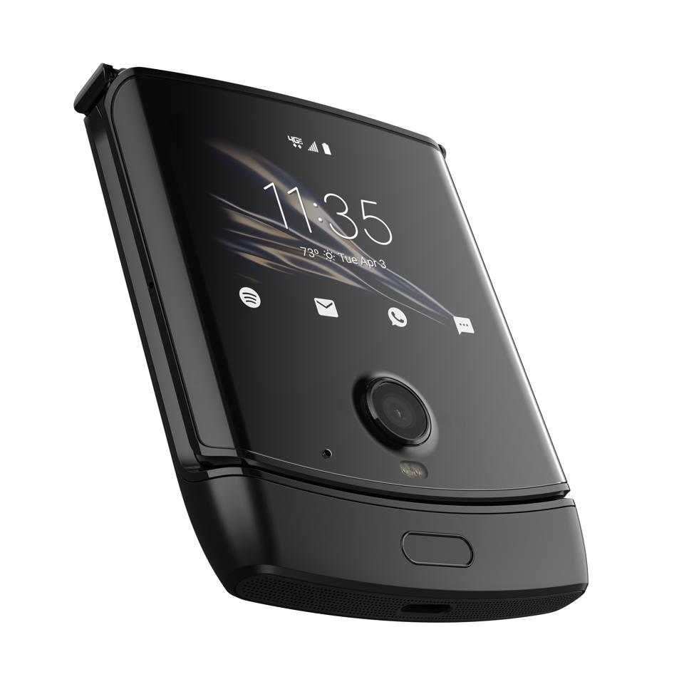 The Motorola Razr 2 could have sensors all around the device that respond to swipes and squeezes.