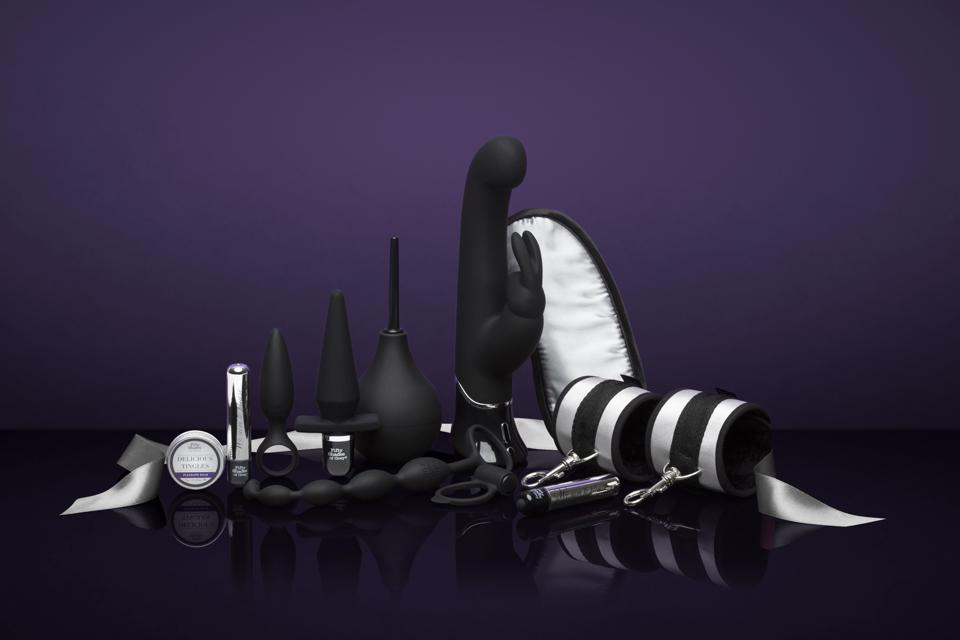 A selection of sex toys available in the Fifty Shades range at Lovehoney