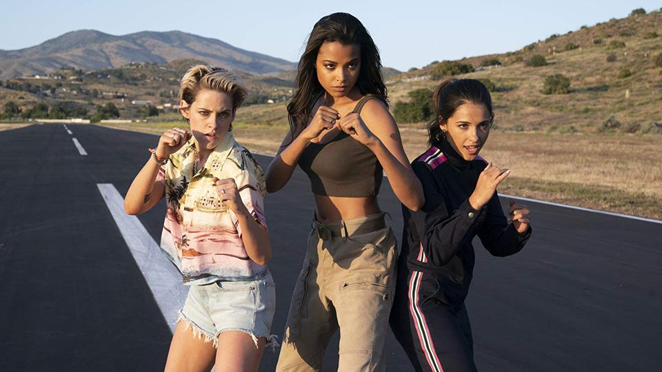Kristen Stewart, Ella Balinska and Naomi Scott in Elizabeth Banks' 'Charlie's Angels'