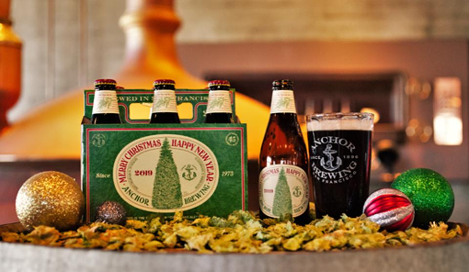 Anchor Steam just released its 45th Christmas ale.