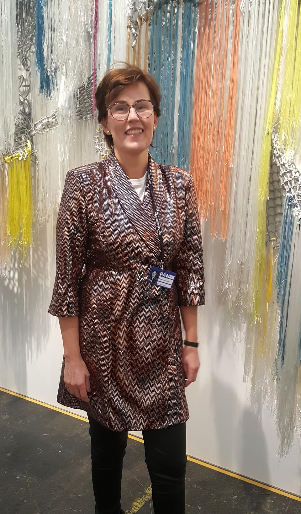 Amsterdam gallery owner and curator Pien Rademakers