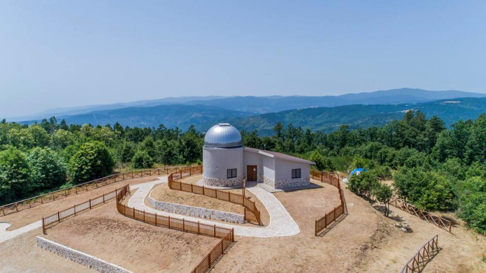 The Habitable Exoplanet Hunting Project involves over 25 observatories, including this one, Lilio Astronomical Park in Savelli, Italy.