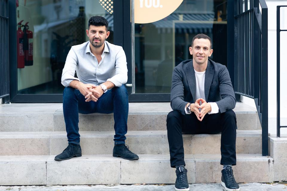 David Kosky (left) and Elliot Gold, cofounders of Work.Life