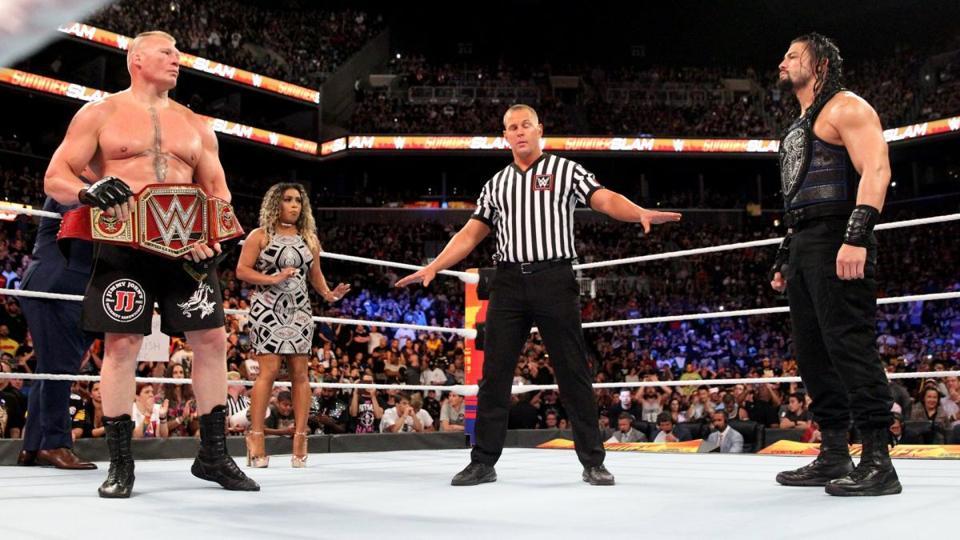 Is WWE Building Toward Roman Reigns Vs. Brock Lesnar Once Again?
