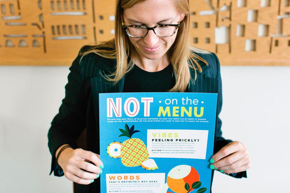 Erin Wade, Founder of Homeroom and Not on the Menu