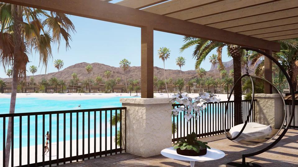 Villa view of Thermal Beach Club