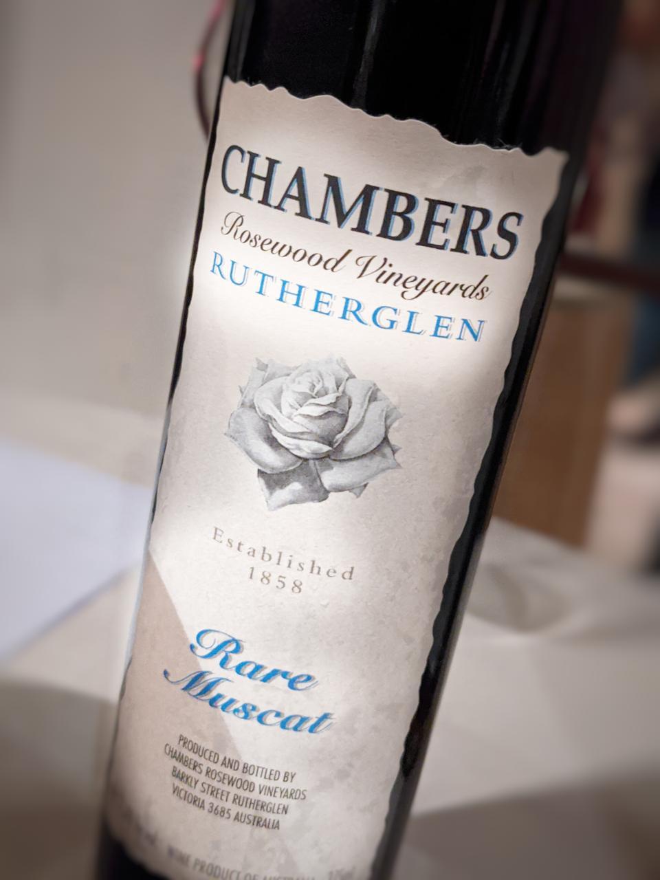 Chambers Rosewood Vineyards Rare Muscat, Rutherglen, Australia