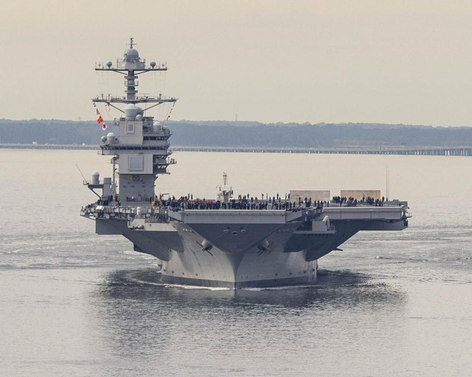 Helicopter Carrier USS Gerald R. Ford