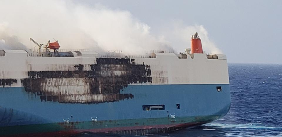 A fire aboard the Serenity Ace cargo ship claimed the lives of five crew members.
