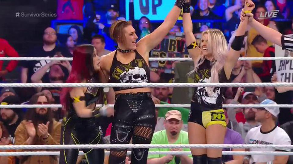 WWE Survivor Series 2019: Rhea Ripley, Io Shirai and Candice LeRae