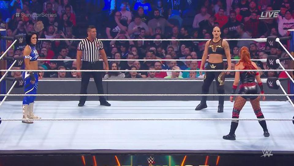 WWE Survivor Series 2019: Becky Lynch, Shayna Baszler and Bayey