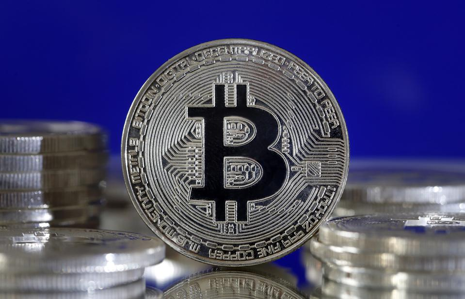 Bitcoin Virtual Currency : Illustration
