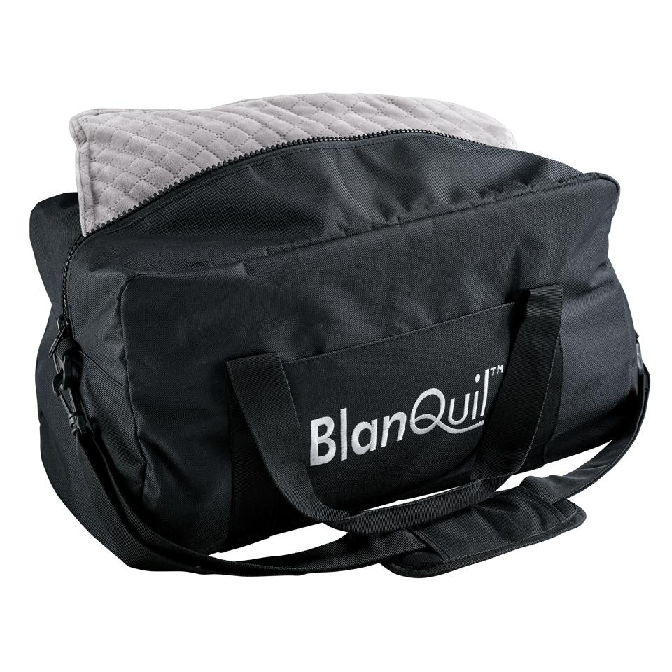 Relaxing gifts for travelers - BlanQuil Passport Travel Weighted Blanket