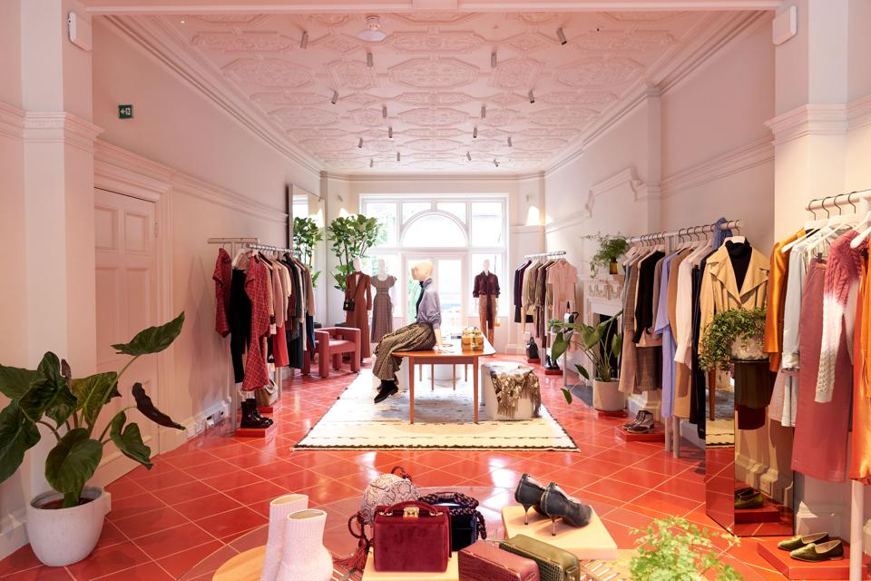 5 Carlos Place, Matches Fashion flagship store in London