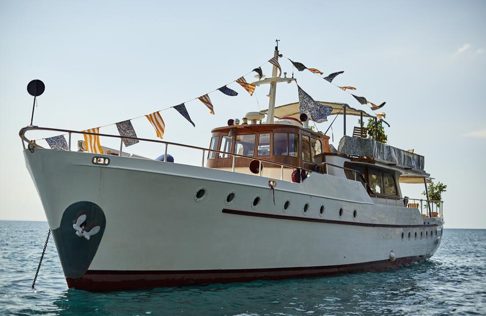 The MatchesFashion X Pellicano Hotels yacht