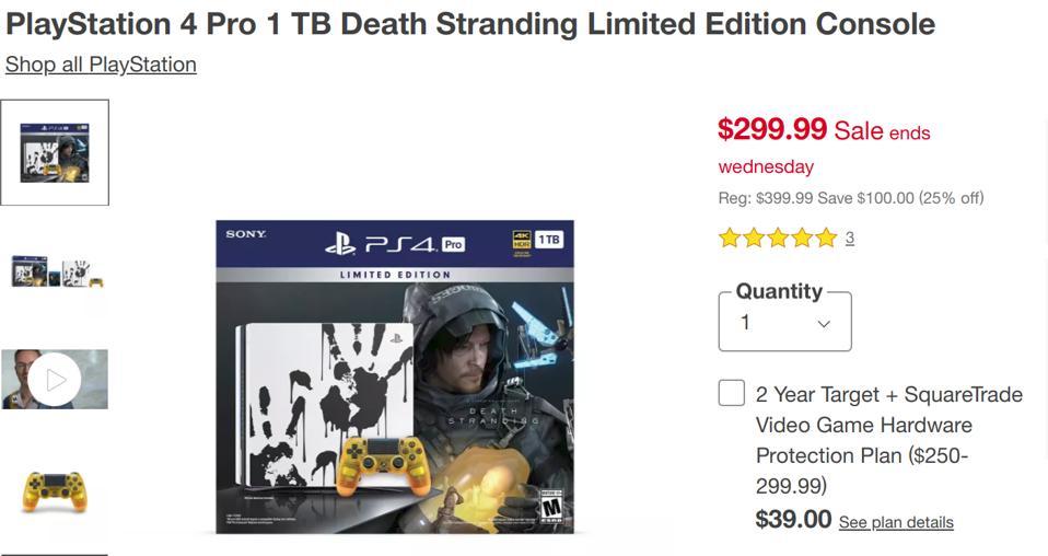 Target Black Friday PS4 Pro deals, Target Black Friday  Xbox One X deals, Best Black Friday console deals,