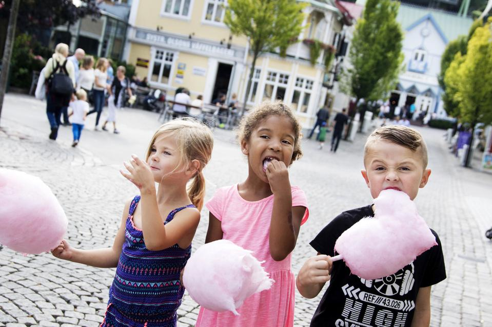 Candy floss at Liseburg