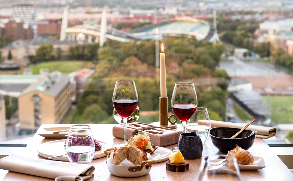 Upper House Dining boasts fine dining fare and prime views of Gothenburg