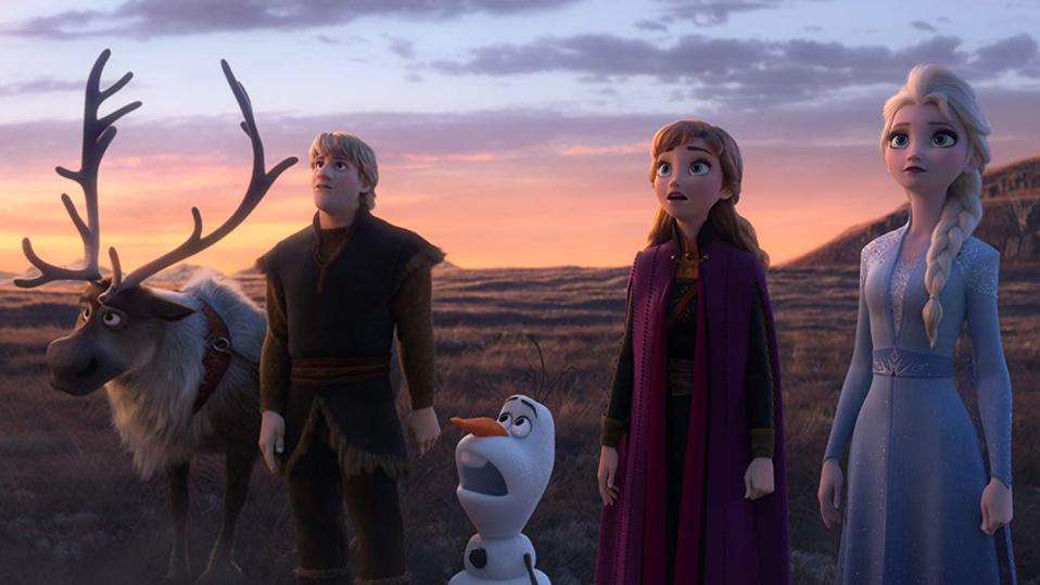 Box Office Bombs And Overseas Apathy For 'Star Wars' Pushed 'Frozen 2' Into The Top Ten