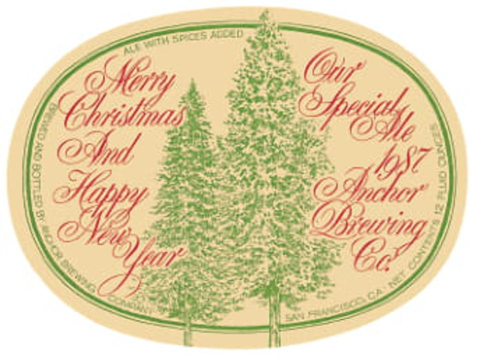 In 1987, two trees were featured on the label to symbolize the owner's marriage.