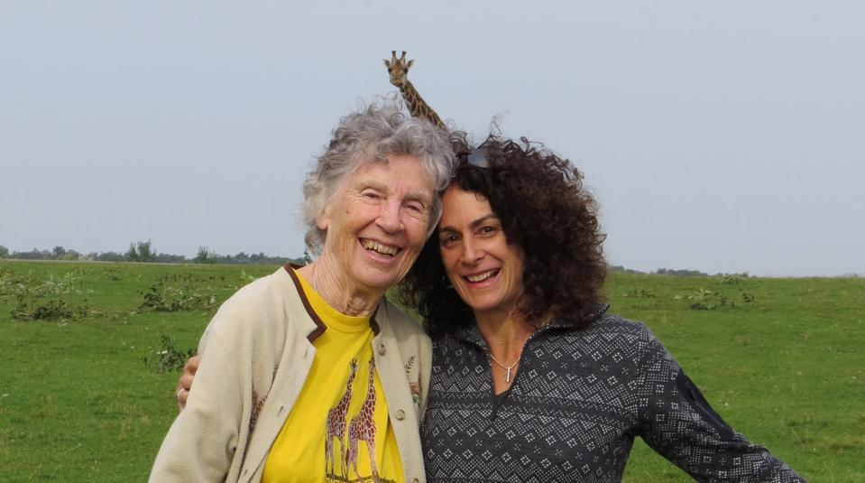 Anne Innis Dagg with director Alison Reid