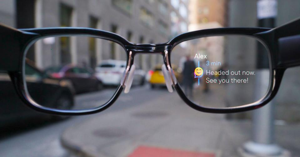 Focals smart glasses by North