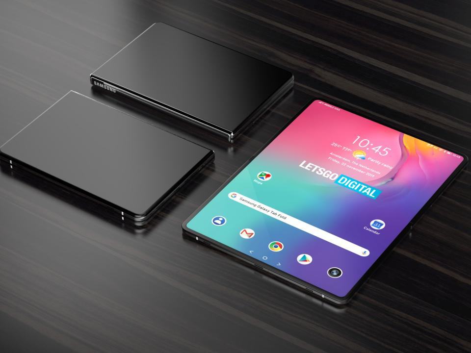 Samsung Galaxy Fold, 2020 Concept (Let's Go Digital)
