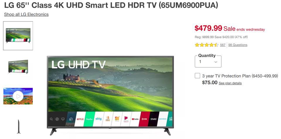 Black Friday TV deals, Black Friday LG TV deals, Black Friday Samsung TV deals, Black Friday OLED TV deals,