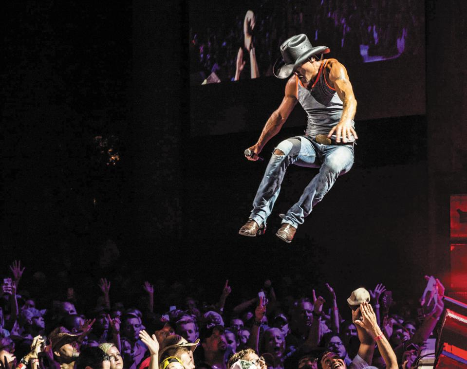 Country superstar Tim McGraw encourages daily exercise for peak performance