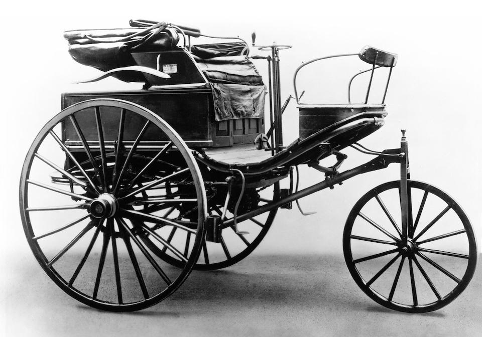 Benz Patent Motorwagen No. 3 of 1888