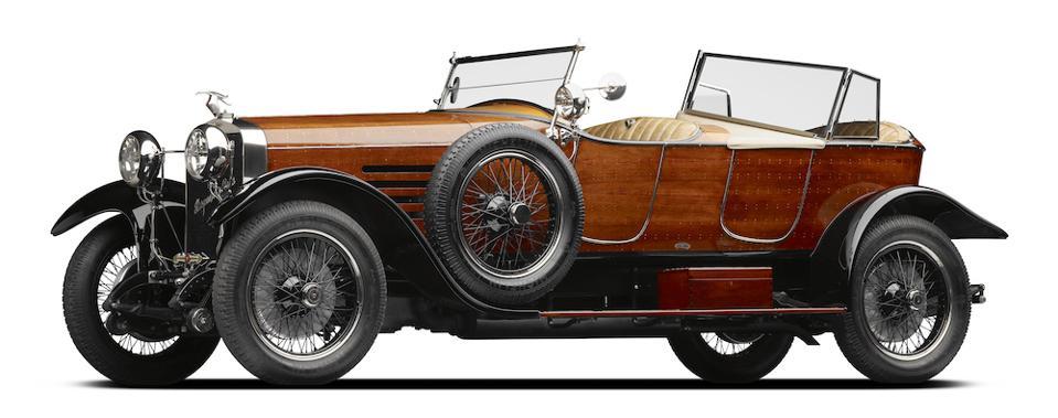 The custom-made Hispano-Suiza Type H6B