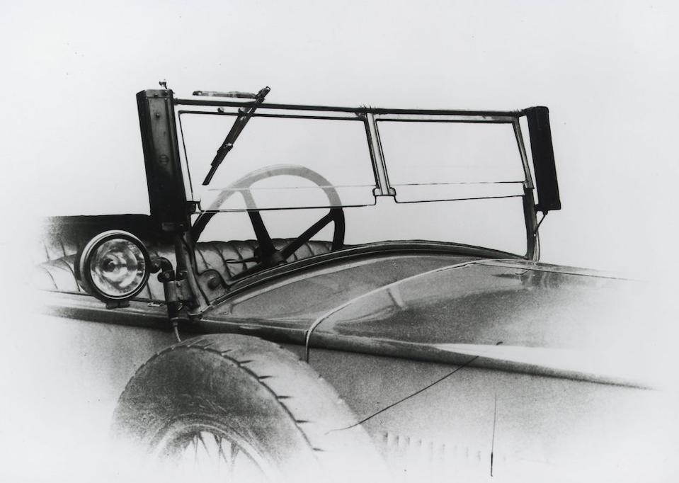 Robert Bosh electronic control unit and wiper blade, 1926
