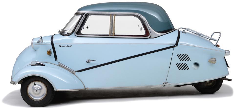 Messerschmitt, KR200 Cabin Scooter Bubble Top, 1959