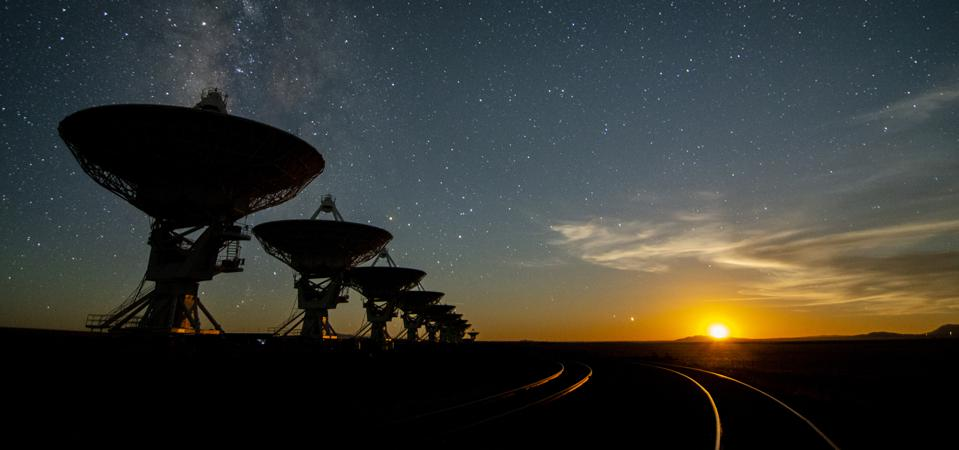 U.S. radio astronomy facilities are working with the communications industry to preserve clear views of the radio universe.