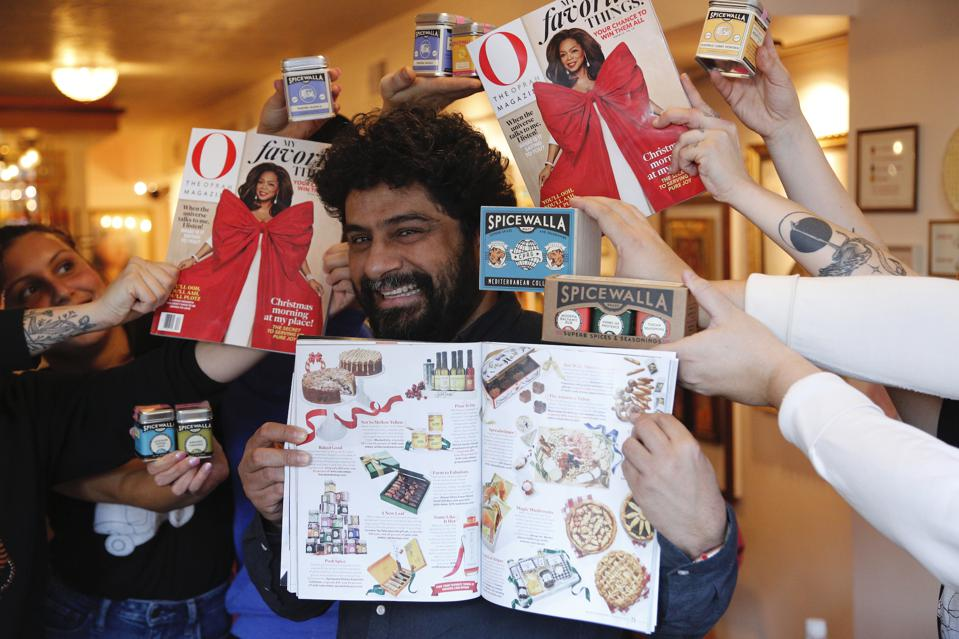 A fantastic day celebrating Spicewalla on Oprah's Favorite Things